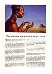 Click here to enlarge image and see more about item auc012324: The Travelers Toad Ad