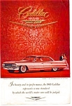 Click here to enlarge image and see more about item auc016103: 1961 Cadillac Jewels and Crest Ad