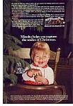Minolta SR-T 102 Christmas Ad 1970's