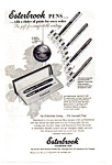 Click here to enlarge image and see more about item auc016122: Esterbrook Fountain Pen Ad 1953
