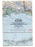 Click here to enlarge image and see more about item auc018407: Alaska Map National Geographic  Jul 1959