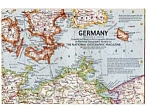 Germany National Geographic Map Jun 1959