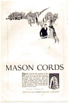 Click here to enlarge image and see more about item auc022302: Mason Cord Tires Ad 1923