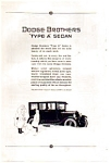1923 Dodge Type A Sedan Ad