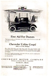 Click here to enlarge image and see more about item auc022310: 1923 Chevrolet Utility Coupe Ad