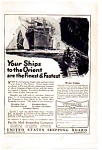 Pacific Mail Steamship Co. Ad 1923
