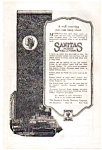 Click here to enlarge image and see more about item auc022316: Sanitas Wall Covering Ad 1923