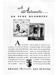 Click here to enlarge image and see more about item Auc023102: Bryant Gas Heating Ad Feb 1931