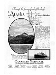 Click here to enlarge image and see more about item auc023104: Canadian National Steamship Cruises to Alaska Ad auc023104