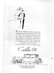 Click here to enlarge image and see more about item auc023105: 1931 Cadillac V-8 Town Sedan Ad auc023105