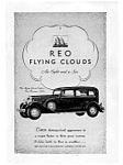 Click here to enlarge image and see more about item auc023116: Reo Flying Clouds Automobile Ad auc023116