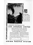 Click here to enlarge image and see more about item auc023120: Union Pacific  Railroad Ad Feb 1931
