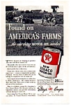 Texaco Motor Oil Ad 1937