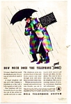 Click here to enlarge image and see more about item auc023714: Bell Telephone System Ad 1937