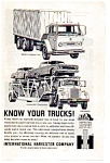 Click here to enlarge image and see more about item auc023723: International Harvester Know Your Trucks Ad