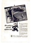 Click here to enlarge image and see more about item auc024601: Bell Telephone Post War Ad auc024601 1946