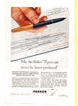 Click here to enlarge image and see more about item auc024611: Parker 51 Pen Ad  1946
