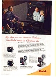 Kodak Camera and Projector AD 1940s