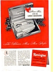 Click here to enlarge image and see more about item auc024620: Remington Contour DeLuxe Shaver Ad 1940s