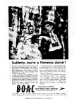 Click here to enlarge image and see more about item auc026102a: Bed and Breakfast Inns in Britain Ad auc026102a Feb 1961