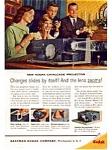 Kodak Cavalcade Projector Ad Feb 1961