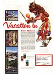 New Mexico Vacation Land of Enchantment Ad auc026110