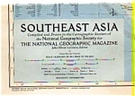 Click here to enlarge image and see more about item auc0314: Southeast Asia Map Sep 1955