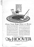 Click here to enlarge image and see more about item auc032211: Hoover Rug Cleaner Ad Mar 1922