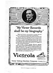 Click here to enlarge image and see more about item auc032220: Victrola Caruso Ad Mar 1922
