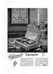 Click here to enlarge image and see more about item auc032222: Whitman's Sampler Candy Ad 1922