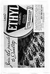 Click here to enlarge image and see more about item auc033404: Ethyl Gasoline Ad 1934
