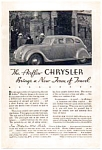 Click here to enlarge image and see more about item auc033405: 1934 Chrysler Airflow Ad