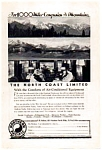 Click here to enlarge image and see more about item auc033411: Northern Pacific North Coast Limited Ad