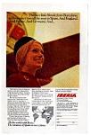 Iberia Airlines Ad 1970s
