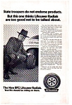 Click here to enlarge image and see more about item auc033421: BF Goodrich Radial Tires Ad auc033421