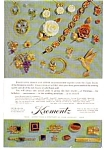 Click here to enlarge image and see more about item auc035: Krementz  Jewelry Ad 1969