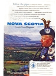 Click here to enlarge image and see more about item auc036118: Nova Scotia Canada's Ocean Playground Ad
