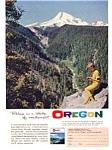 Oregon Mt Hood Ad Mar 1961