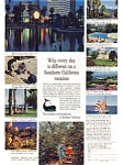 Southern California Tourist Ad Mar 1961