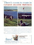 Click here to enlarge image and see more about item auc046104: Canada s Atlantic Provinces Travel Ad auc046104