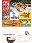 Click here to enlarge image and see more about item auc046107: Evinrude Outboards Ad April 1961