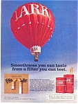 Click here to enlarge image and see more about item auc0512: Lark Filter Cigarette Ad Hot Air Balloon