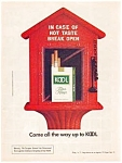 Click here to enlarge image and see more about item auc0513: Kool Cigarette Ad ca.1974