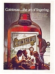 Click here to enlarge image and see more about item auc0514: Cointreau Liqueur Ad auc0514 ca.1974