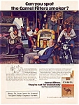 Click here to enlarge image and see more about item auc0515: Camel Cigarette Ad auc0515 ca.1974