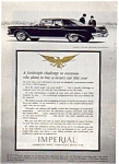 Click here to enlarge image and see more about item auc053: 1962 Chrysler Imperial Ad