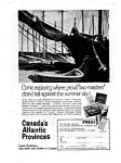 Canada's Atlantic Provinces Travel Ad 1963
