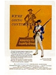 Continental Insurance Soldier Ad