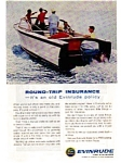 Click here to enlarge image and see more about item auc056308: Evinrude Outboard Ad May 1963