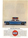Click here to enlarge image and see more about item auc056310: Gulf Oil Tourgide Kit Ad May 1963